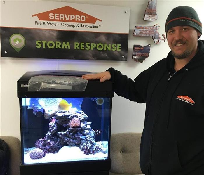 Jessie & SERVPRO Rescue Homes and Fish