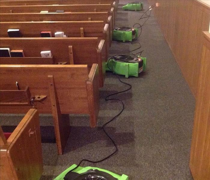 A Water Damaged Church in St. Paul Is Restored BY SERVPRO