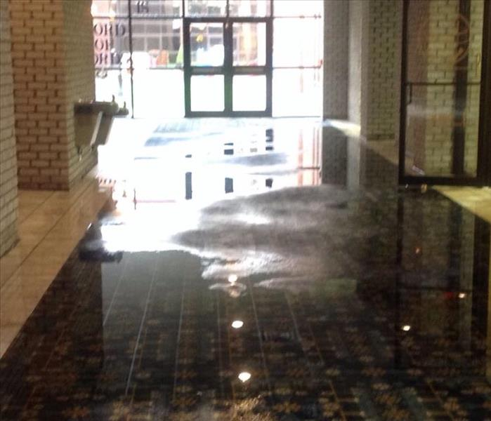 Commercial Commercial Water Damage can Affect Stores and Shops in St Francis