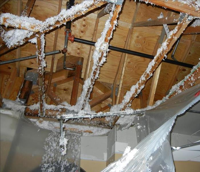 Water Damage Damage from Broken Pipes in Coon Rapids
