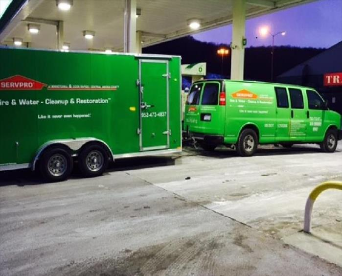 Water Damage SERVPRO of Coon Rapids/Central Anoka County Travels to the East Coast